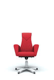 Red office armchair Royalty Free Stock Image