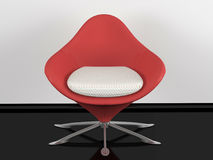 Red office armchair indoor Stock Photography