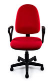 Red office chair Stock Photos