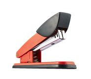 Red office stapler isolated Royalty Free Stock Photography