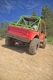 Red offroad car Stock Image