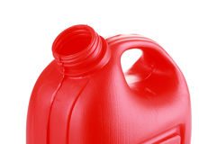 Red Oil canister Royalty Free Stock Image