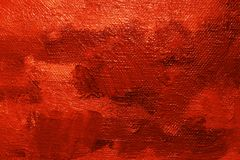 Red oil paint background Royalty Free Stock Photography