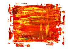 Red oil painting texture stock illustration