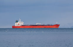 Red Oil Tanker Royalty Free Stock Photo