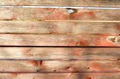 Red old boards stock image