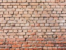 A red old brick masonry Stock Photos