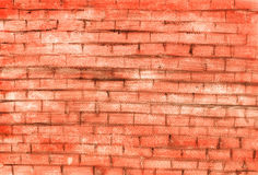 Red old brick wall Royalty Free Stock Images
