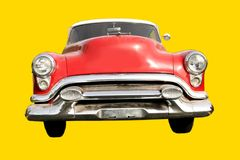 Red Old Car Royalty Free Stock Images