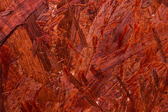 Red old painted wooden panels. Ideal to use as background Stock Photography