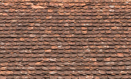 Red old roof tiles background Royalty Free Stock Photography