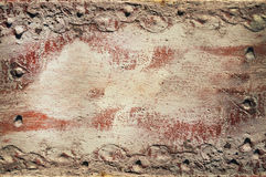 Red old sheet with layers background Royalty Free Stock Image