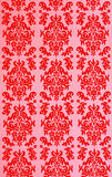 Red old thai pattern Stock Image