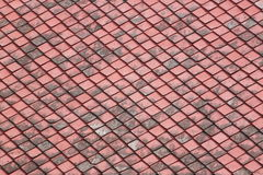 Red old Tiles roof. Stock Image