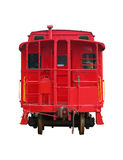 Red old train Stock Images