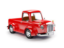 Red old truck Royalty Free Stock Photography