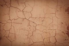 Red old wall with vignette Royalty Free Stock Images
