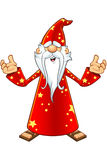 Red Old Wizard Character Stock Photos