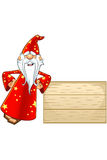 Red Old Wizard Character Royalty Free Stock Photo