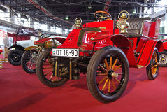 Red oldtimer car Stock Photo