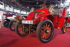 Red oldtimer car Stock Photo