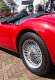 Red oldtimer Stock Image