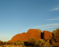 The red Olgas Royalty Free Stock Photo