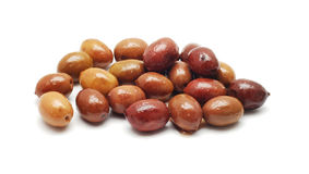 Red olives Royalty Free Stock Photography