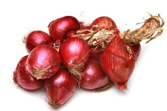 Red onion. A group of red onion Royalty Free Stock Photography