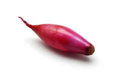 Red onion. Isolated on white Stock Photography