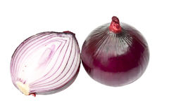 Red onion Royalty Free Stock Photography