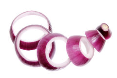Red Onion Royalty Free Stock Photos