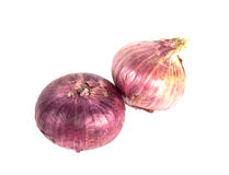 Red onion. S, sometimes called purple onions, are cultivars of the onion with purplish red skin and white flesh tinged with red. These onions tend to be medium Royalty Free Stock Image