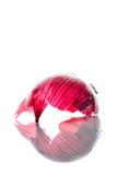 Red onion skin Stock Photo