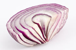 Red onion slices Royalty Free Stock Photo