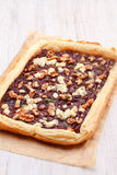 Red onion tart Royalty Free Stock Photo