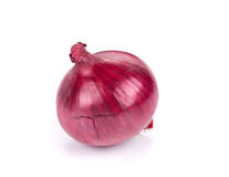 Red onion. Royalty Free Stock Photos