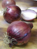 Red onions 6 Royalty Free Stock Images