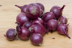 Red onions. Stillife Stock Image