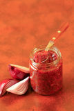 Red onions confit Royalty Free Stock Images