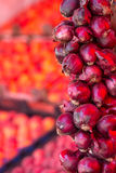 Red Onions at the Fresh Produce Market Royalty Free Stock Photo