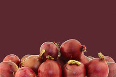 Red onions Stock Image