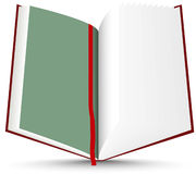 Red open book Royalty Free Stock Photos