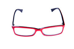 Red optical glasses Stock Images