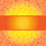 Red and orange abstract background with frame Stock Photos