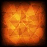 Red and orange abstract mosaic background Royalty Free Stock Photo