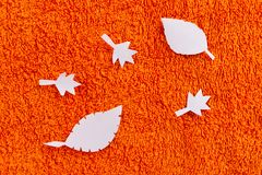 Red and Orange Autumn Leaves Background. Image stock photos