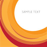 Red and orange background. And text space Royalty Free Stock Photography