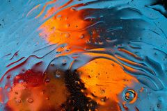 Red, orange, blue, yellow colorful abstract design, texture. Beautiful backgrounds. Beautiful close up view red, blue, orange, black, yellow colorful abstract royalty free stock image