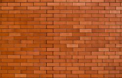 A red-orange brick wall Stock Photography